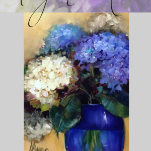 Blue Lace Hydrangeas - 60 minute DVD