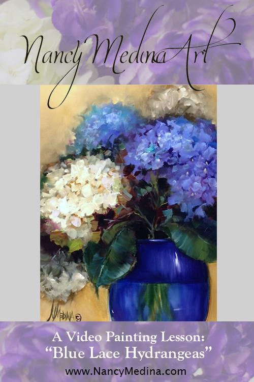 Blue Lace Hydrangeas - 60 minute DVD