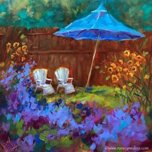 Flower Mound Garden by Nancy Medina