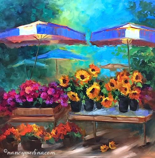 French Market Bargain Bin by Nancy Medina