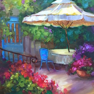 French Patio by Nancy Medina