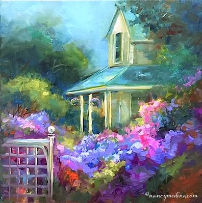 Hidden Hydrangea Garden