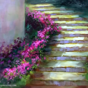 Memory Lane Arboretum Path by Nancy Medina