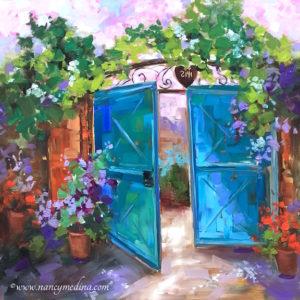 Morning Vieux by Nancy Medina