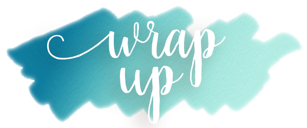 Wrap up – Fall 2016