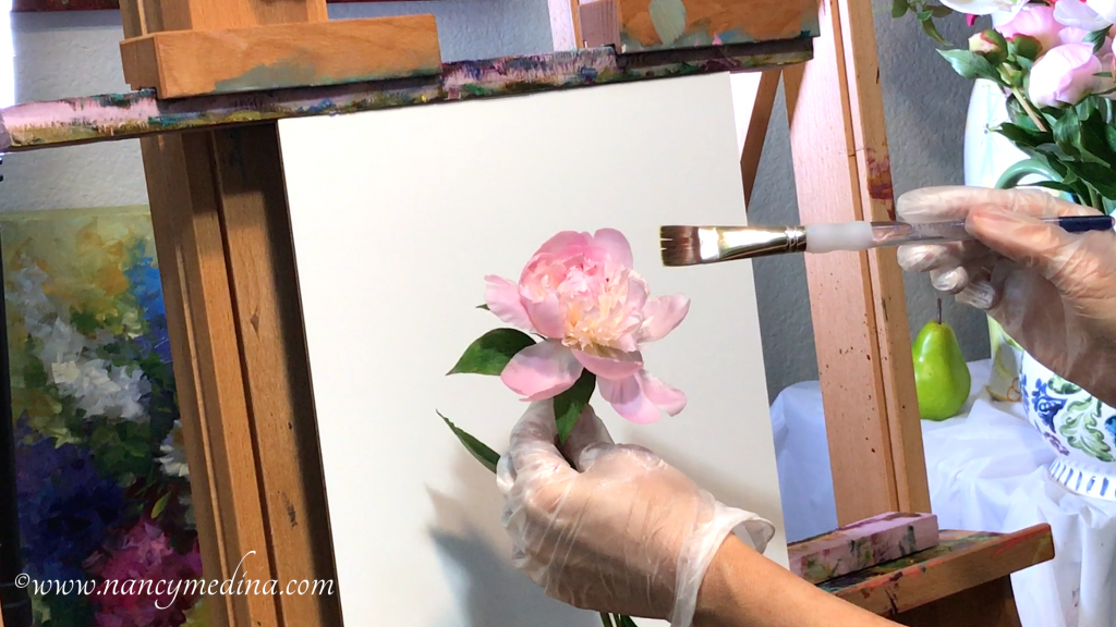 Pink Underpaintings Nancy Medina Video