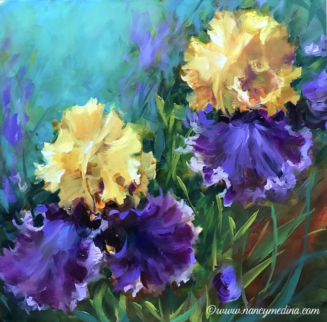 Into the Light Iris Garden