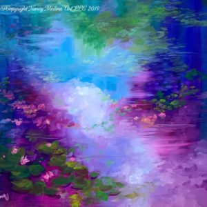 PMG Giverny Skyfall painting copyright