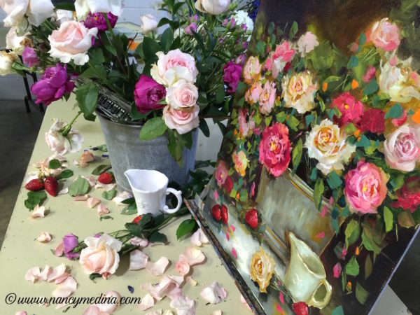 Roses and Rainwater setup