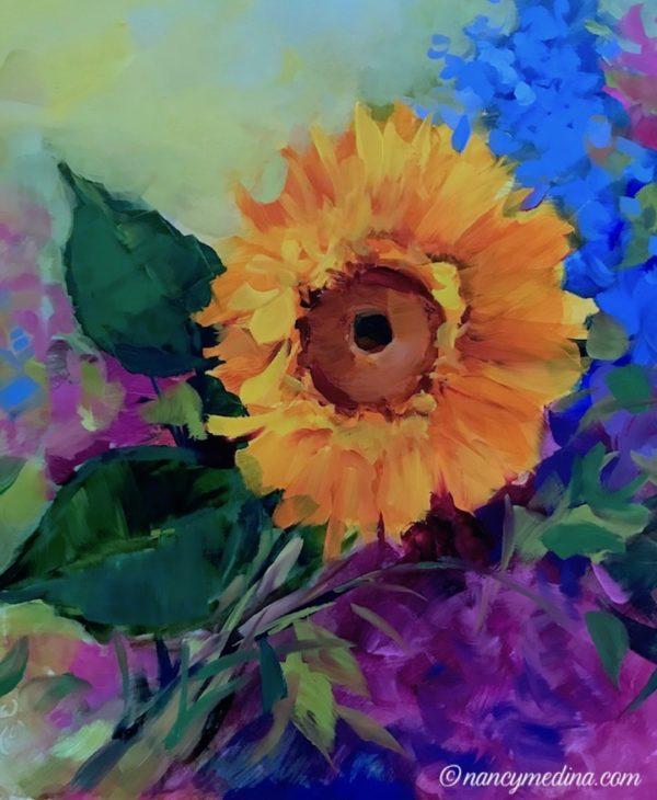 Solo Flight Sunflower