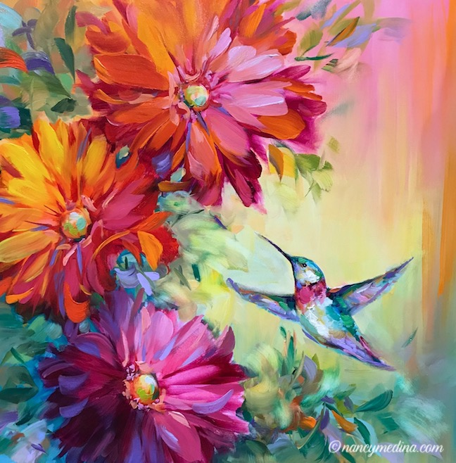 Spring Harbinger Hummingbird