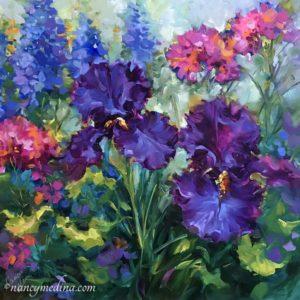Spring Siesta Iris Garden