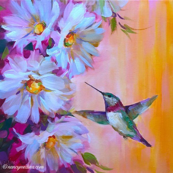 Spry Spring Hummingbird