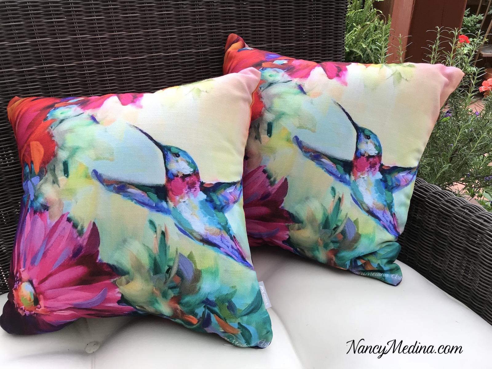 Hummer pillows