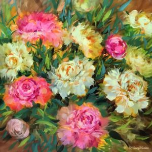 Peaches and Cream Peonies