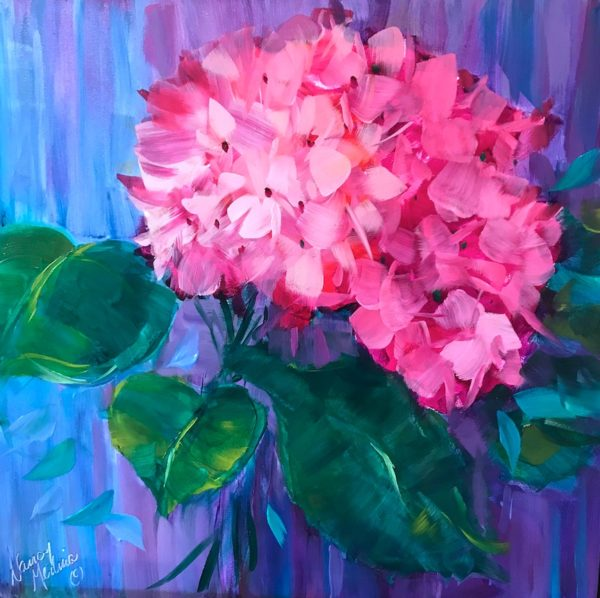 French Pink Hydrangea