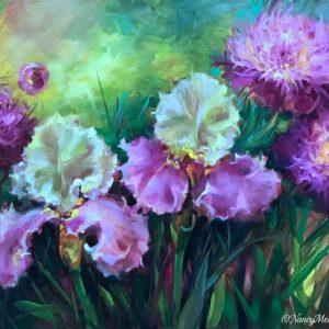 Giverny Iris Garden