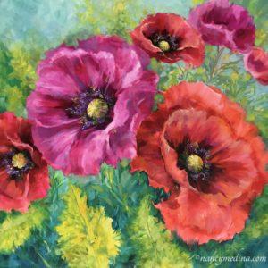 Pirouette Poppy Garden