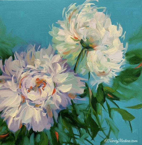 Blue Ballet White Peonies