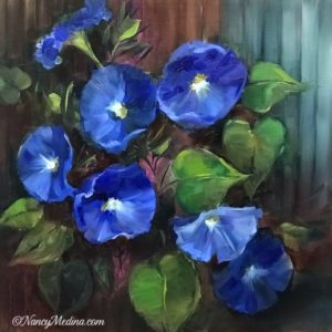 Blue Climbers Morning Glories