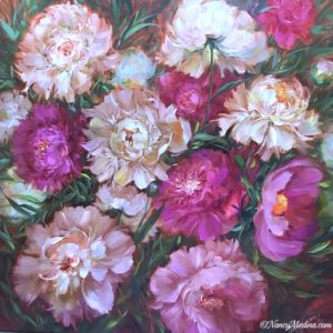 new soft landing peonies