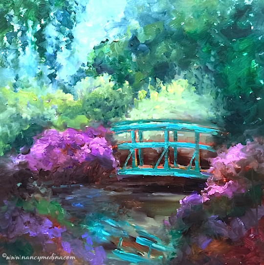 Monets Garden Bridge