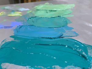 Monet palette