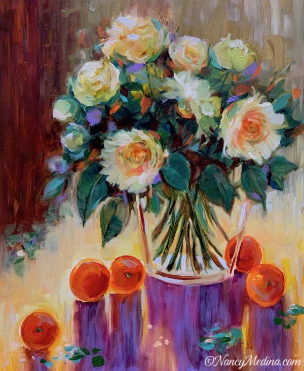 Take Flight Roses and Oranges