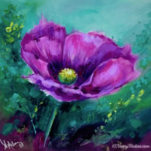 Wine Blush Poppy
