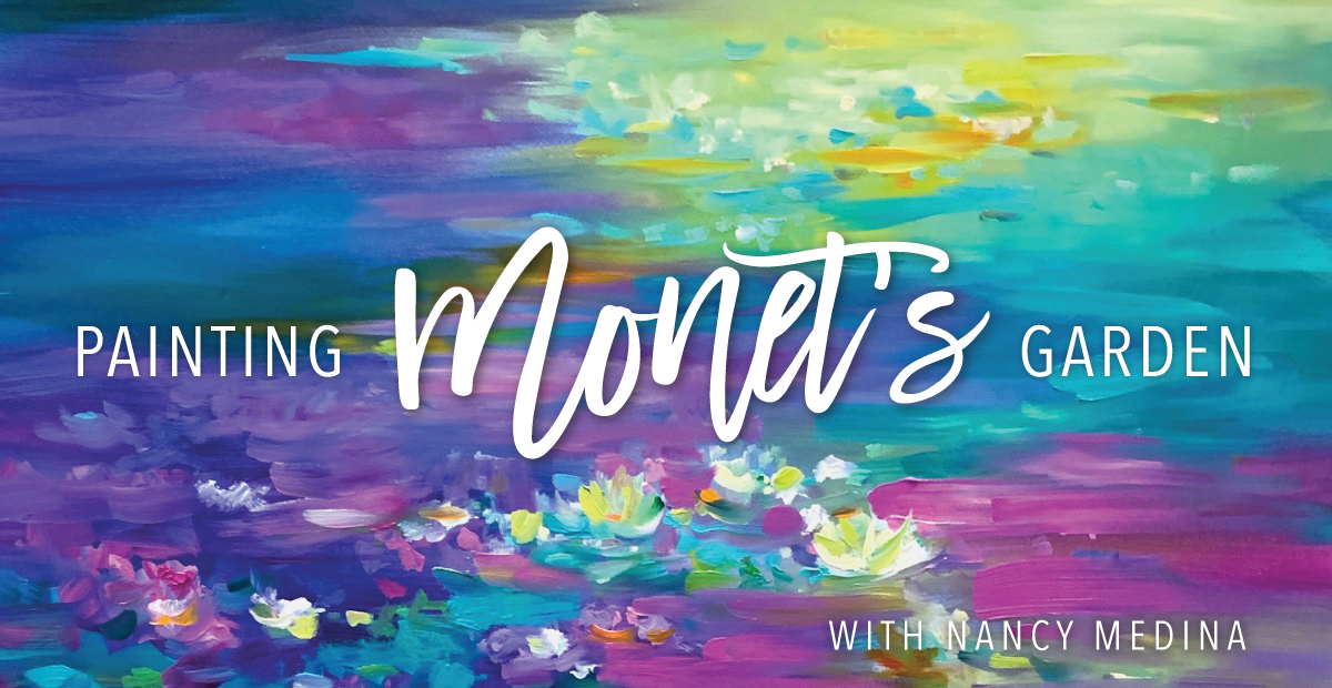 Online Impressionism Painting Class: Painting Monet's Garden