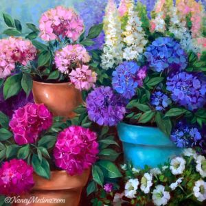 Spring Fever Hydrangea Garden 30X30