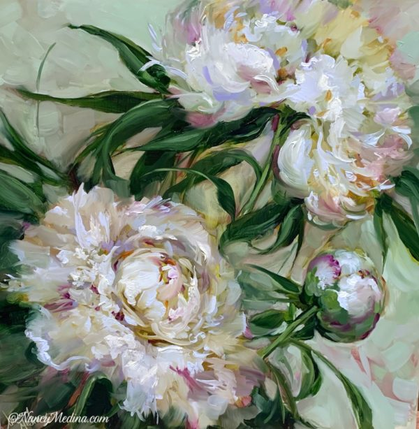 Breathless in White Peonies