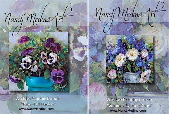 DVD video bundle pansies and roses