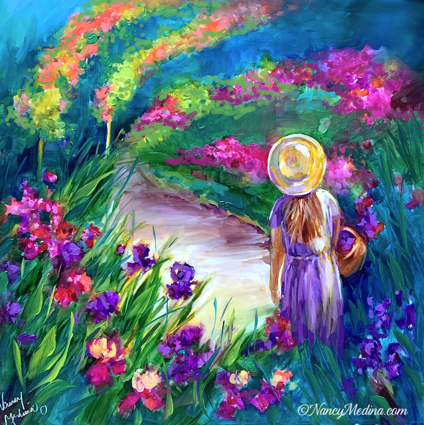 Monet Flower Girl final sm