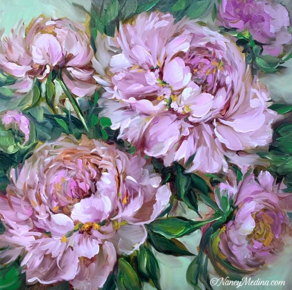 Heaven's Flight Pink Peonies