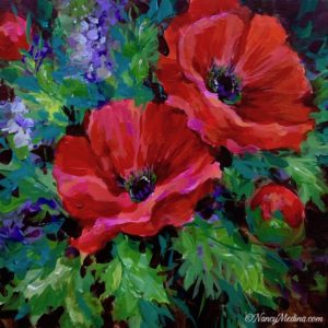 Red Dancer Poppies