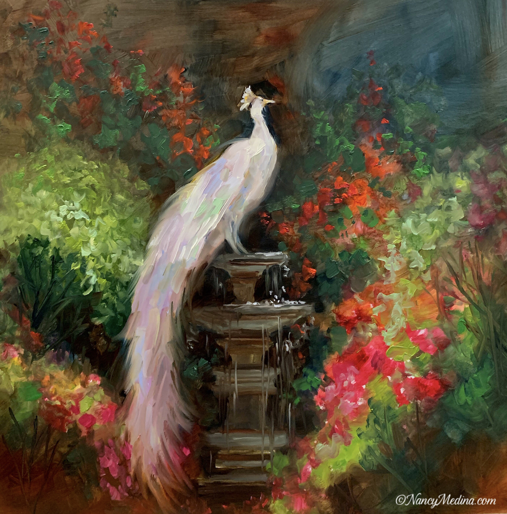 The White Queen - Peacock
