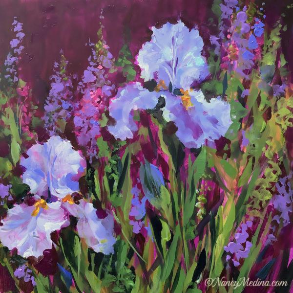 Spring Wish Iris Garden