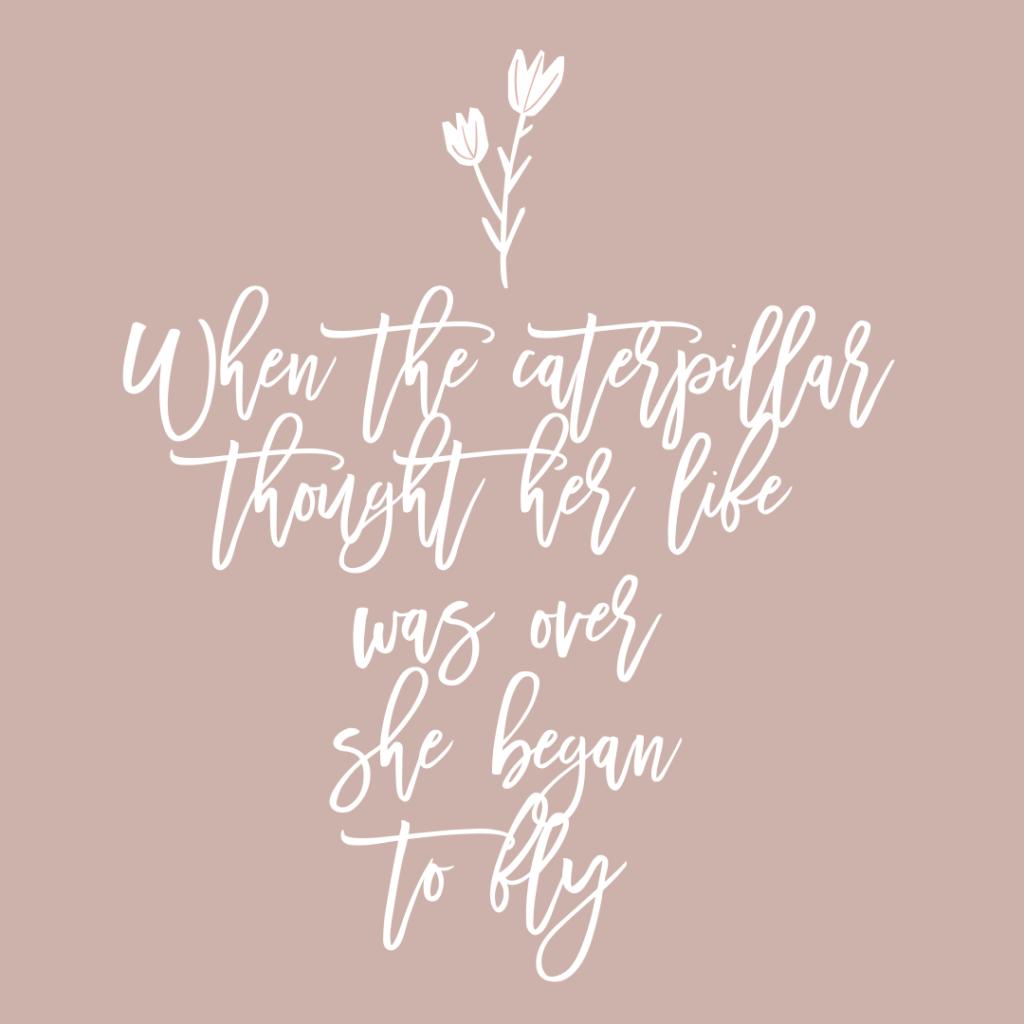 quote caterpillar