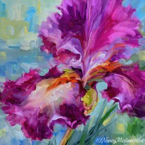 Pink Flight Iris