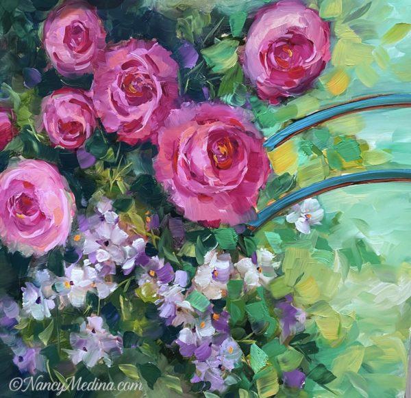 Monet's Garden Roses