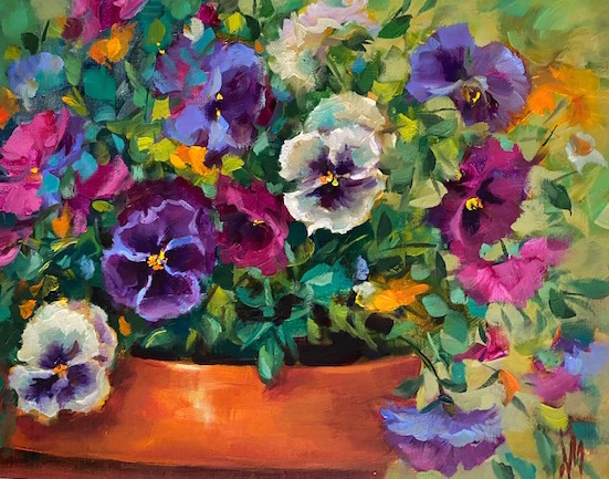 Pansy Blessings