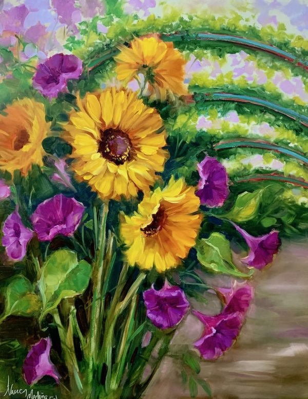 Sunflowers of Monet