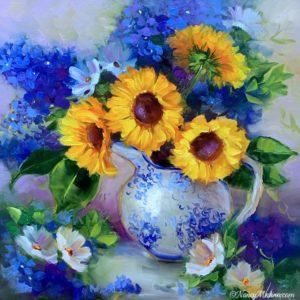Summer Tango Sunflowers