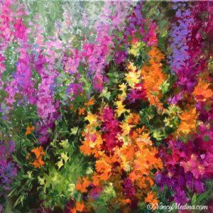 Wild Lily Garden 20X20