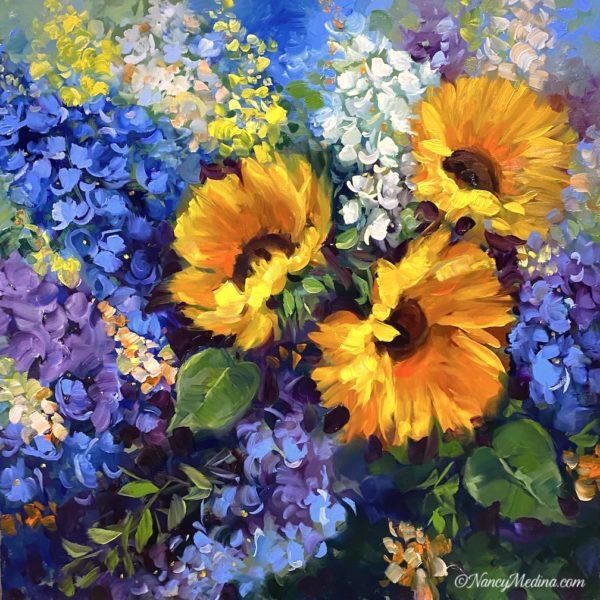 Color Flight Sunflowers