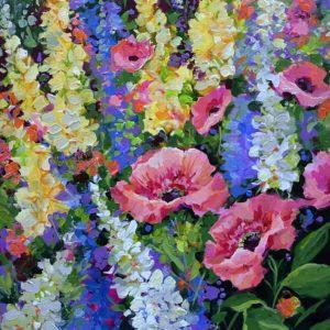 Serenity Garden Pink Poppies
