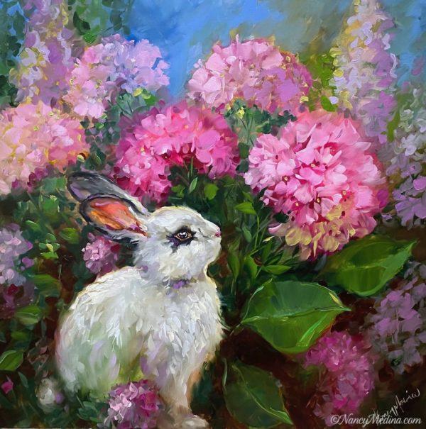 Shade Seeker Bunny