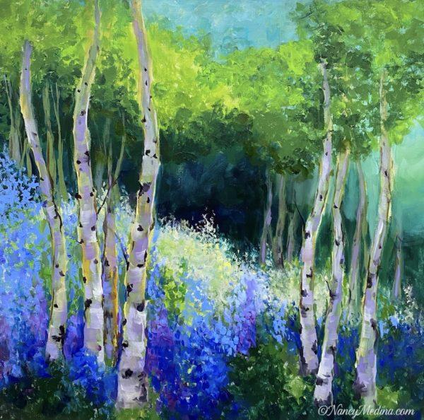 Blue Dream Aspens