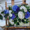 Dreams of Flying Blue Hydrangeas studio peek